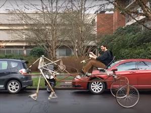 ¿Una bicicleta que camina?