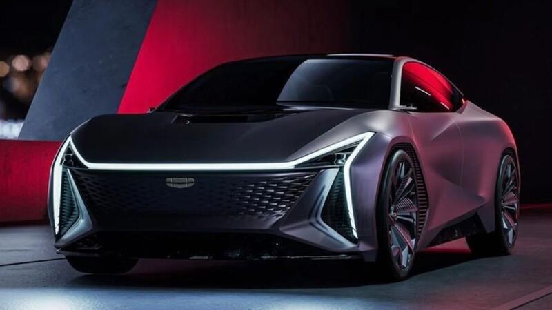 Geely Vision Starburst Concept, una mirada al futuro
