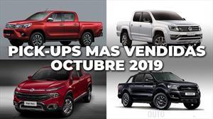 Top 10: Las pick-ups más vendidas de Argentina en octubre de 2019