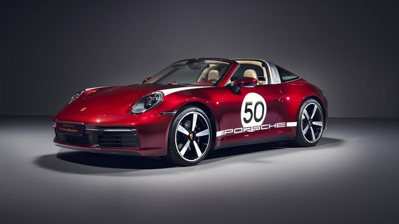Porsche 911 Targa Heritage Design Edition, el primero de la edición homenaje