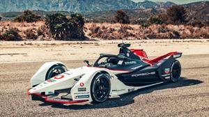Porsche 99X Electric es el bólido de la marca para la Fórmula E