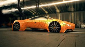 Flake Concept Car, el auto futurista mutante