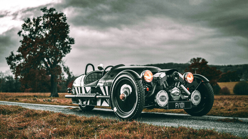 Morgan 3-Wheeler P101 Edition 2021, un final espectacular