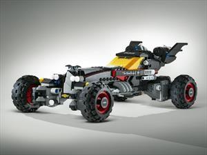 Alucinante Batimóvil al estilo LEGO
