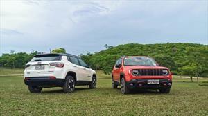 Jeep añade equipamiento a sus modelos Renegade y Compass