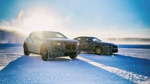 BMW iX3 y el i4 afrontaron exigente puesta a punto en Suecia