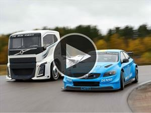 Video: Volvo S60 Polestar se mide ante The Iron Knight