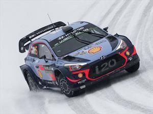Neuville se impuso en el Rally de Suecia 2018