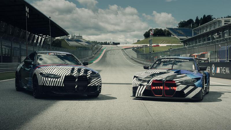Los nuevos BMW M4 Coupé y M4 GT3 debutan durante el MotoGP