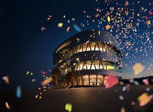 Celebración de los 10 años del museo de Mercedes-Benz en Stuttgart