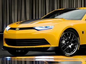 Cuenta regresiva para ver la sexta generación del Chevrolet Camaro