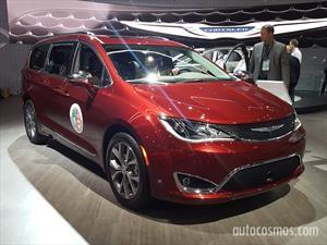 Chrysler Pacifica se consagra como la North American Utility of the Year 2017