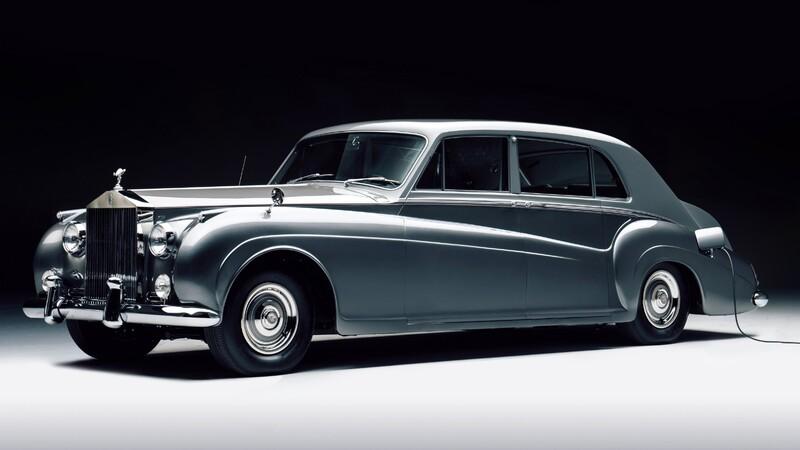 Lunaz revive dos clásicos de Rolls-Royce y los hace eléctricos