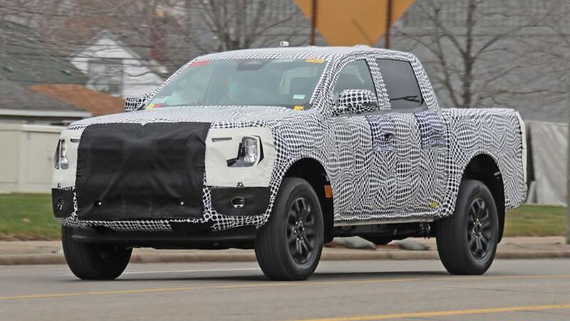 Espían a la nueva generación de la Ford Ranger