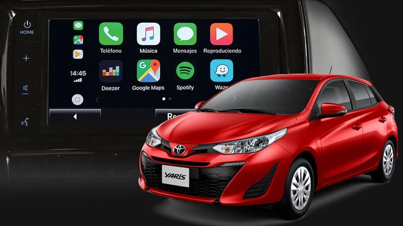 Toyota Yaris ya tiene conectadas a todas sus versiones