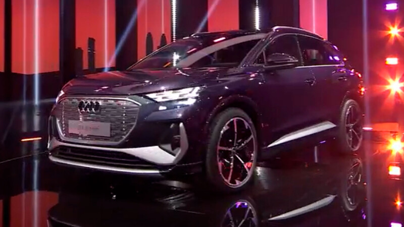 Audi Q4 e-tron 2022, una SUV eléctrica recargada de vanguardismo