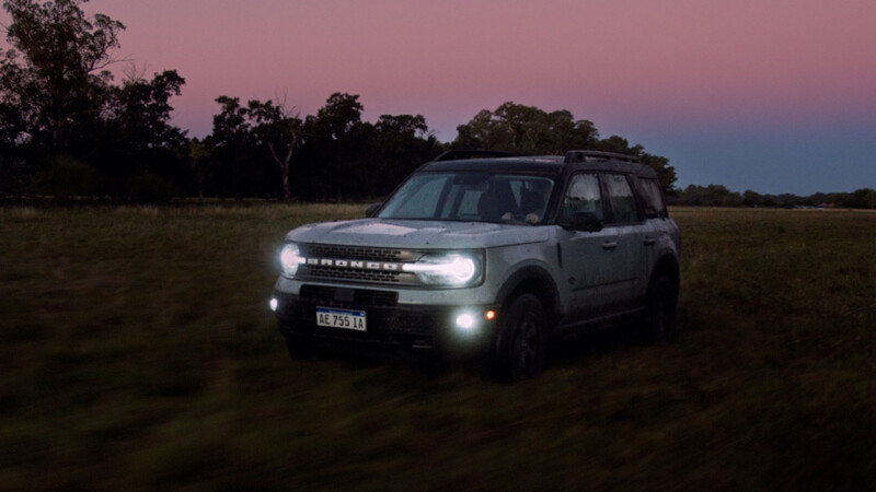 Ford Argentina entregó la primera Bronco Sport y el cliente se fue volando
