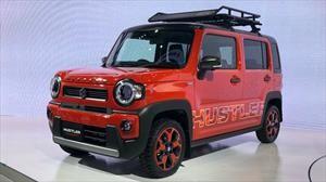 Suzuki Hustler Concept adelanta cómo será la segunda generación del hermano menor del Jimny