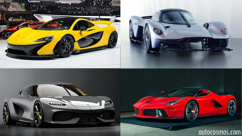 Los 10 autos superdeportivos híbridos más poderosos y veloces