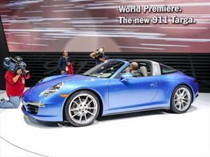 Porsche hace suspirar a todo Detroit con el nuevo 911 Targa