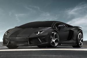 Lamborghini Aventador LP700-4, con tratamiento de fibra de carbono
