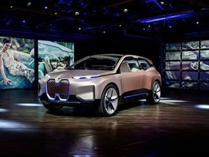 BMW Vision iNext, la puerta de entrada hacia el futuro