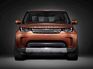 Land Rover muestra la cara del Discovery 2017