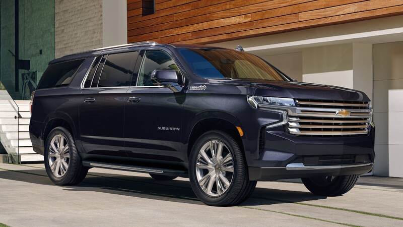 Chevrolet Suburban y Tahoe 2022 se presentan