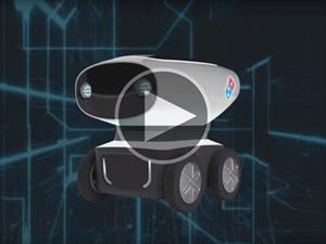 Video: Domino's crea el primer vehículo autónomo para entregar pizza