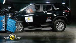 Mazda CX-5 obtiene 5 estrellas en las pruebas de EuroNCAP