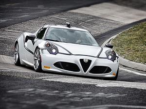 El Alfa Romeo 4C obtiene récord en Nürburgring para un auto de menos de 250hp