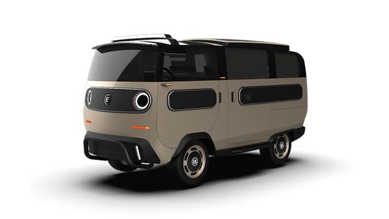 eBussy reinterpreta a la Volkswagen Combi