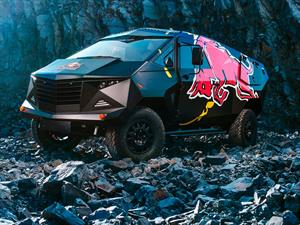 Red Bull Defender, un vehículo inspirado en el Jet F-22 Raptor