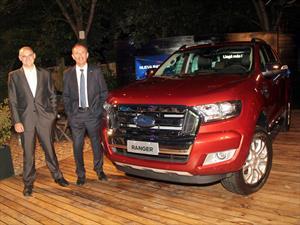 La renovación de la Ford Ranger llega a Argentina en 2016