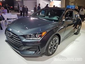 Autoclásica 2018: Hyundai lleva el nuevo Veloster y le pone precio