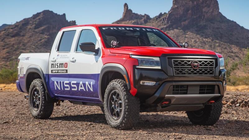 Esta Nissan Frontier PRO-4X 2022 tiene look retro y más capacidades todoterreno