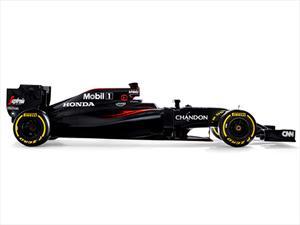 F1: McLaren-Honda devela el MP4-31 2016