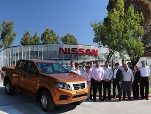 Primeras pruebas de la Nissan Frontier de fabricación nacional