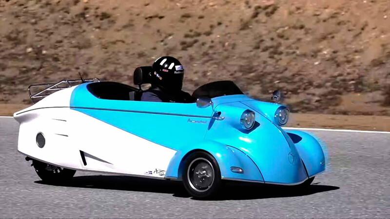 Messerschmitt, el famoso micro auto de la posguerra está de regreso