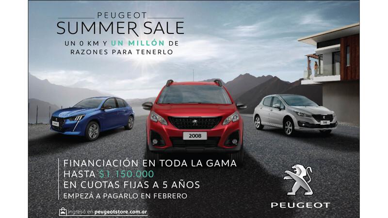 Peugeot lanza su Summer Sale con promociones
