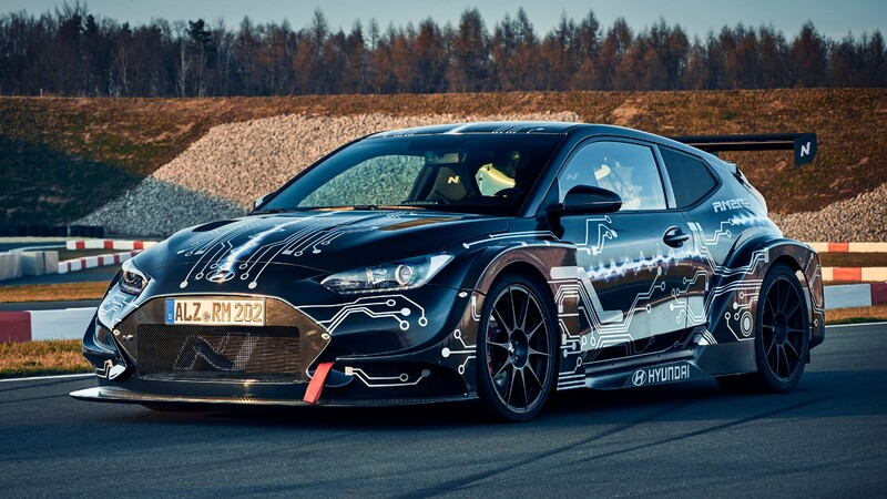 Hyundai RM20e Racing Midship: 800 Hp de potencia eléctrica