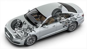 Audi A8 estrena suspensión activa predictiva; confort y deportividad al máximo