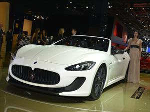 Maserati GranCabrio MC Stradale se presenta en París 2012