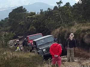 Jeep Academy, gran experiencia en el Cerro del Tablazo