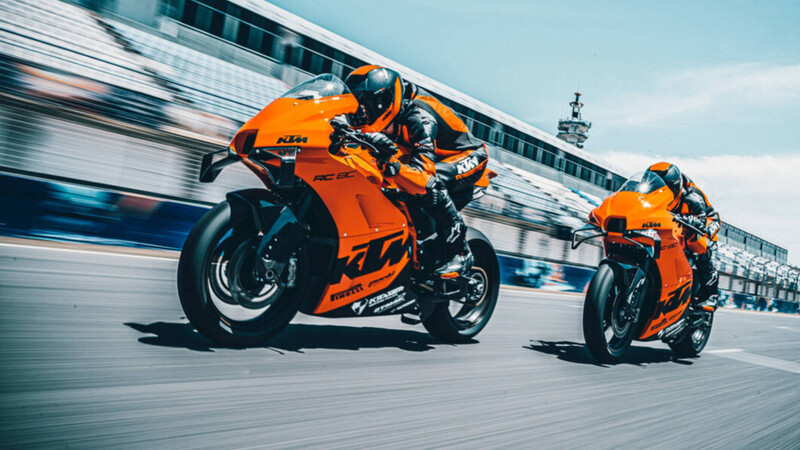 RC 8C: la nueva bestia de KTM para la pista