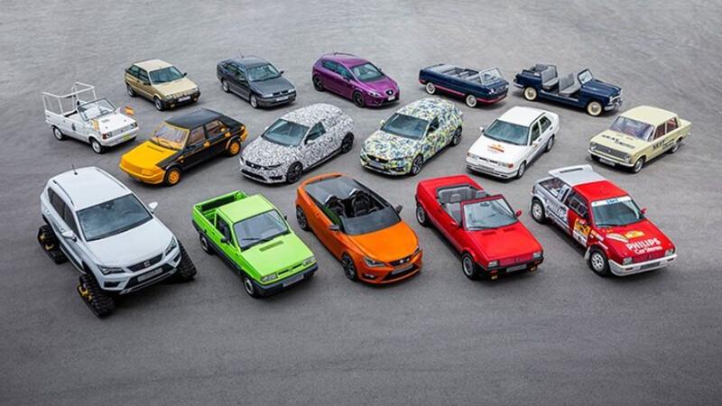 Celebramos los 70 años de SEAT con todos sus modelos especiales