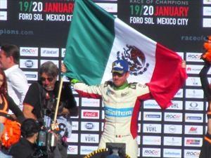Race Of Champions: piloto mexicano hace respetar la casa