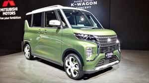 Mitsubishi Super Height K-Wagon Concept, kei car con aire de SUV