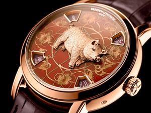 """Vacheron Constantin suma a su colección del zodiaco chino el modelo: """"Año del cerdo"""""""