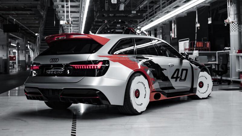 Audi RS6 GTO, un brutal tributo a las glorias de la IMSA